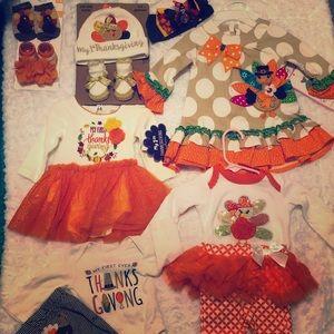 Halloween & thanksgiving clothes